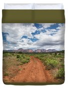 Drive To Loy Canyon, Sedona, Arizona Duvet Cover