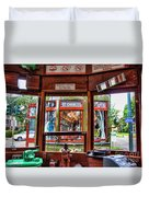 Driver St. Charles Trolley New Orleans Duvet Cover
