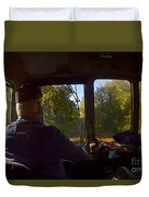 Drivers Eye View Duvet Cover