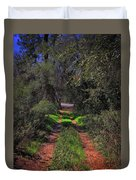 Driveway To Home Duvet Cover