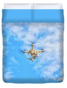 Drone On The Air Duvet Cover