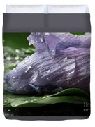 Droplets Of Nature Duvet Cover