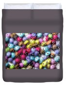 Drops And Candies Duvet Cover