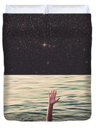 Drowned In Space Duvet Cover