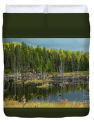 Drowned Trees Duvet Cover