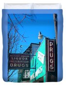 Drugs Duvet Cover
