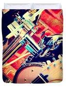 Drum Set Duvet Cover