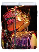 Drum Set Duvet Cover