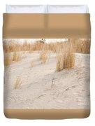 Dry Dune Grass Plants Duvet Cover