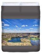 Dry Falls Overlook Duvet Cover