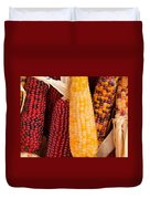 Dry Indian Corn Duvet Cover