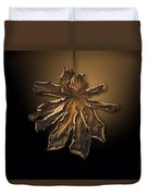 Dry Leaf Collection Digital  Duvet Cover