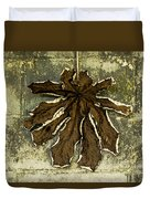 Dry Leaf Collection Natural Duvet Cover