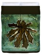 Dry Leaf Collection Wall Duvet Cover