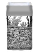 Dry Stone Wall Duvet Cover