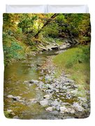 Drying Up River 3 Duvet Cover