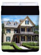 du Bignon Cottage Duvet Cover