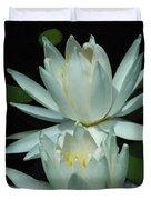 Dual Lilies Duvet Cover