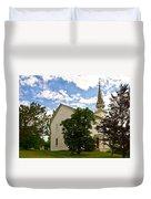 Duanesburg, Ny, Church Duvet Cover