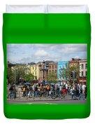 Dublin Day Duvet Cover