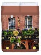 Dublin Ireland - Palace Bar Duvet Cover