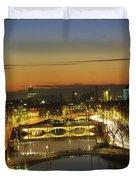 Dublin,co Dublin,irelandview Of The Duvet Cover