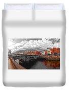 Dublin's Fairytales Around Grattan Bridge 2 V3 Duvet Cover