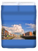 Dublin's Fairytales Around  River Liffey Duvet Cover