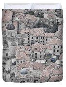Dubrovnik Rooftops #2 Duvet Cover