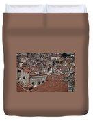 Dubrovnik Rooftops #3 Duvet Cover