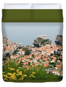 Dubrovnik, The Walled Old City Duvet Cover