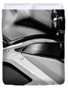 Ducati 1098 Motorcycle -0893bw Duvet Cover