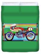 Ducati 750 Ss Corsa Duvet Cover