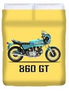 Ducati 860 Gt 1975 Duvet Cover