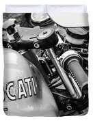 Ducati Desmo Motorcycle -2127bw Duvet Cover