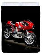 Ducati Mhe Mike Hailwood Evoluzione Duvet Cover