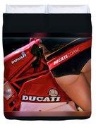 Ducati Model Duvet Cover