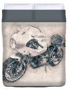 Ducati Paulsmart 1000 Le - 2006 - Motorcycle Poster - Automotive Art Duvet Cover