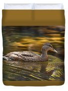 Duck Duvet Cover by Atul Daimari