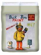 Duck Boy Duvet Cover