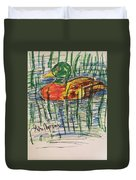 Duck Decoy Duvet Cover