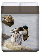 Duck, Duck Duvet Cover