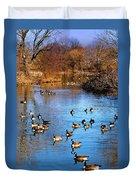 Duck Duck Goose Goose Duvet Cover