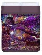 Duck Mallard Anatidae Duck Bird  Duvet Cover