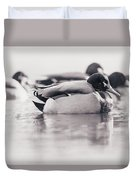 Duck On Water Duvet Cover