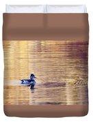Duck Pond 3 Duvet Cover