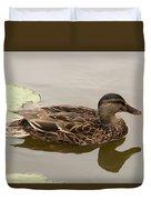 Duck Reflecting Duvet Cover