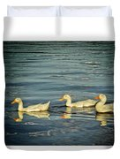 Duck Reflections Duvet Cover