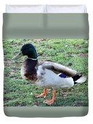 Duck - Standing Duvet Cover