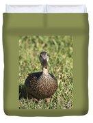 Duck Stare Duvet Cover